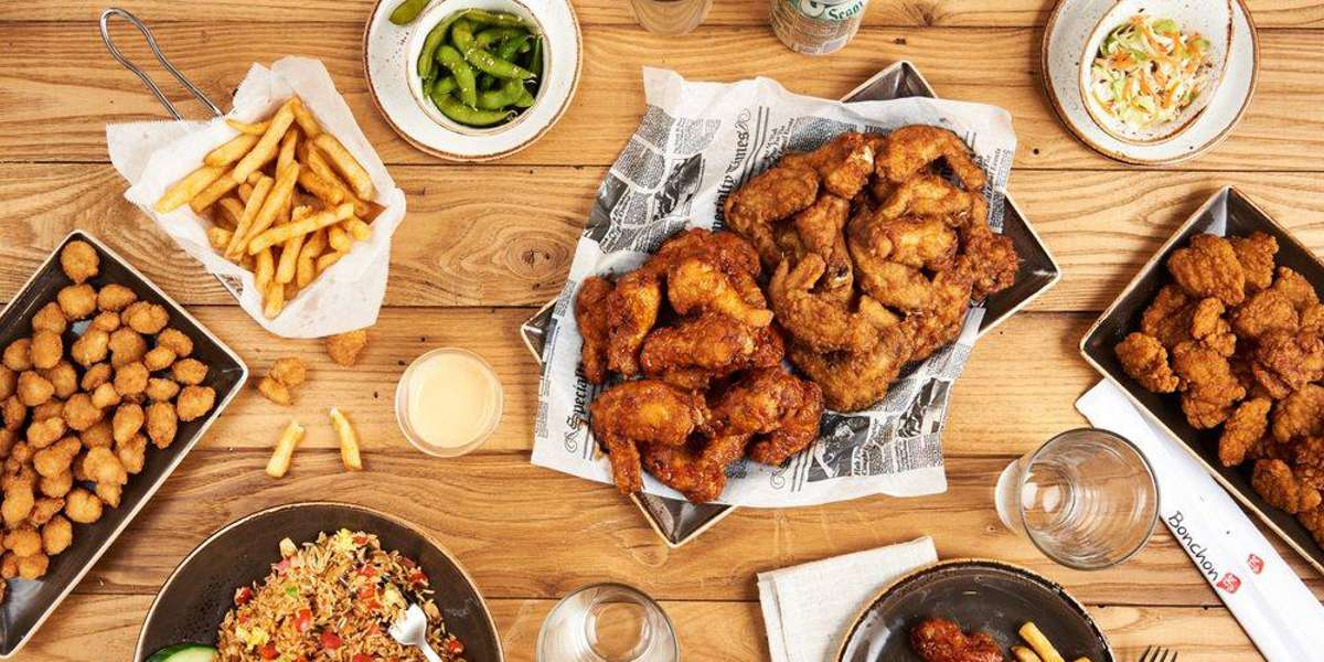 """Bonchon means """"my hometown"""" and our hometown is Busan South Korea. Our special Asian fusion brand of fried chicken is the most incredible Korean recipe you may have never experienced before, and there's never been a better time! If you love delicious Chinese appetizers, American sides, and chicken with incredible Korean sauces, you've come to the right place. - Bonchon"""