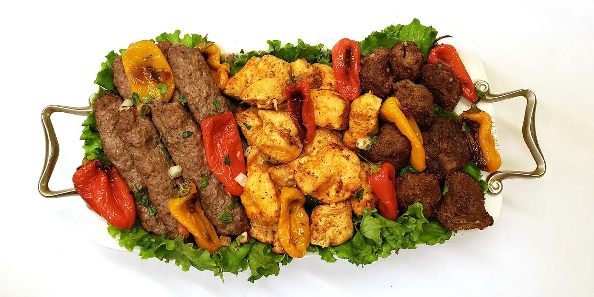 We always use the freshest ingredients to ensure the best flavor. Yelpers love our grilled vegetables and kebabs! Consider us for your next meeting or corporate event. - Alla's Armenian/Mediterranean Restaurant