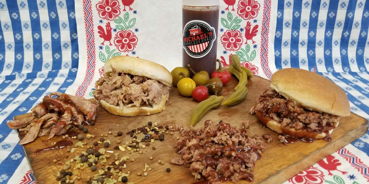 If you're looking to wow your group with incredible Texas BBQ or spicy Tex-Mex cuisine, you've found the right place. We specialize in catering homemade BBQ favorites directly to your office or event. Try our build-your-own sandwich packages for a fun and delicious lunch! - Michael's Barbeque Shack