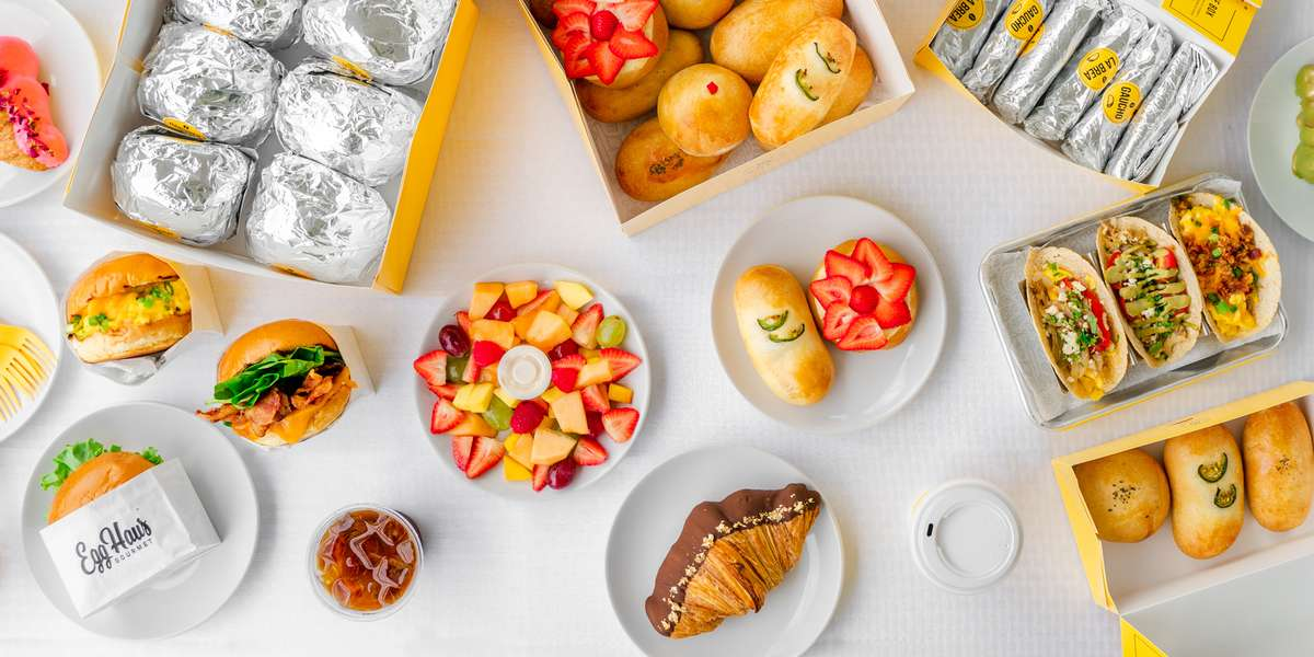 EggHaus Gourmet of Houston, Texas provides your active lifestyle a delicious and nutritious breakfast or lunch made from only the finest ingredients available. We serve delicious pastries, gourmet kolaches, egg sandwiches, and elevated tacos. - EggHaus Gourmet