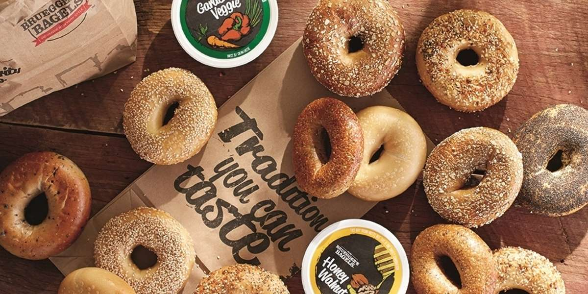 Your source for fresh-baked authentic New York-style bagels, a dozen flavors of Vermont-produced cream cheese, freshly-prepared breakfasts, lunches, and more. - Bruegger's Bagels