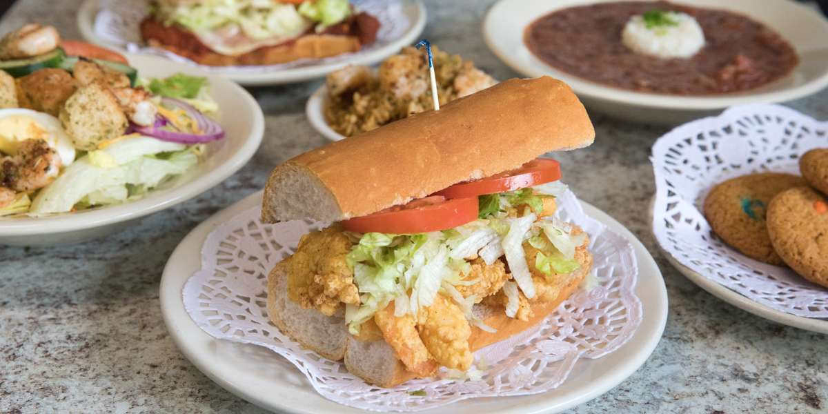 All-traditional Po-Boys and Louisiana cooking, including fried chicken, seafood combos, and jambalaya. If your looking for something fast and easy, try one of our boxed lunches for your next corporate meeting or event. We'll make sure everything is fresh and ready to go! - Jam's Po-Boys & Catering