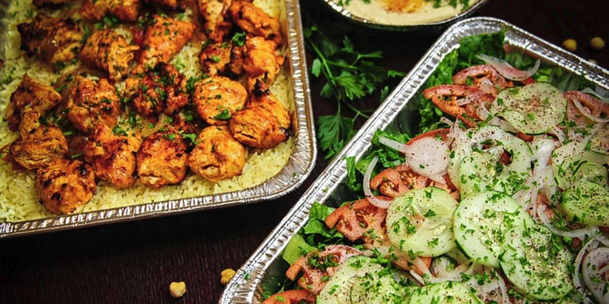 We offer traditional Mediterranean and authentic Middle Eastern food that is cooked to order, affordable, and convenient. You'll savor the flavor of our open flame cooking. The catering menu is simple, but rich and flavorful - Garlic Crush