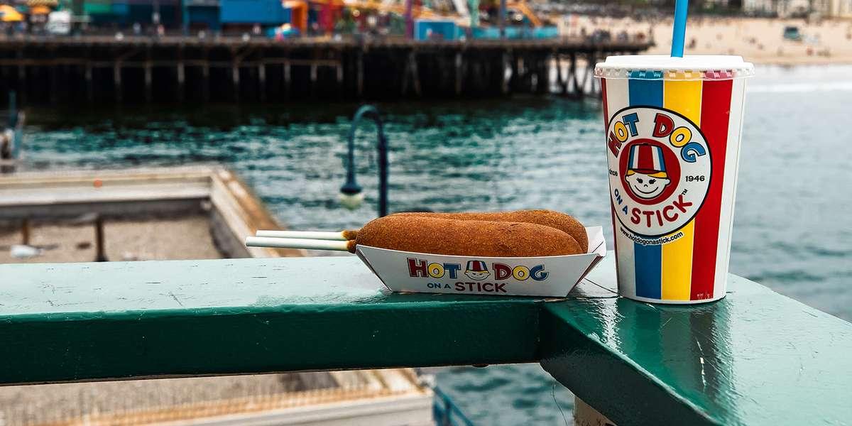 - Hot Dog on a Stick