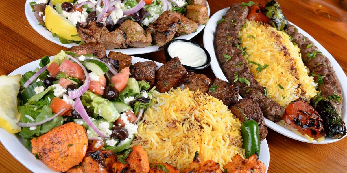 """With the best kebabs in downtown Santa Ana, we truly are """"the kebab place""""! Our menu features traditional Greek & Mediterranean dishes made even more delicious by unexpected modern twists. Whether you crave halal kebabs or a vegetarian falafel, we know you will not be disappointed. - Kebab Place"""