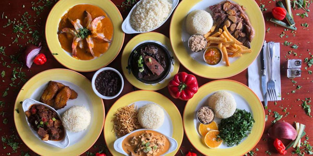 Our authentic Brazilian cuisine is carefully infused with the intense flavors of garlic, onions, tomatoes, palm oil, and coconut. Be sure to try the feijoada, the black bean stew that's the national dish of Brazil. Pair with fried yucca, cheese puffs, sweet fried plantains, and good old rice and beans for a meal your guests won't forget. - Rice X Beans Authentic Brazilian Cuisine