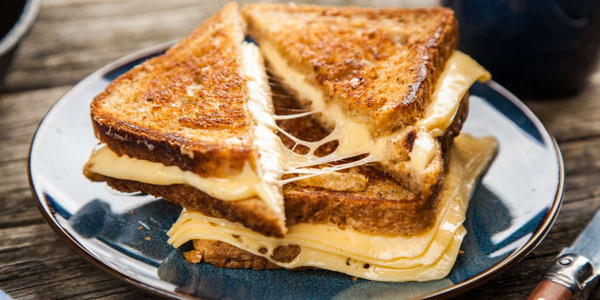 - Grater Grilled Cheese