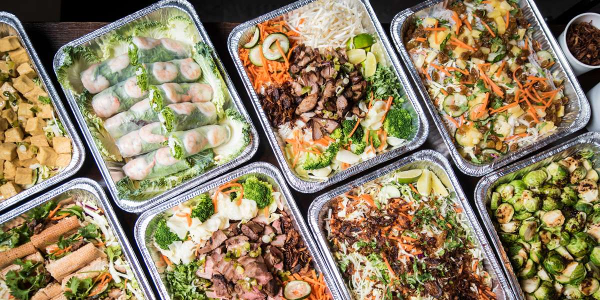 Staying true to the ingredients and style of authentic Asian street food allows us to offer fresh-made, tasty and healthy food that's lower in sodium and fat while maintaining the craveable flavors that make this food so memorable. Fresh-made Vietnamese cuisine for your next meeting or event!  - Asian Box