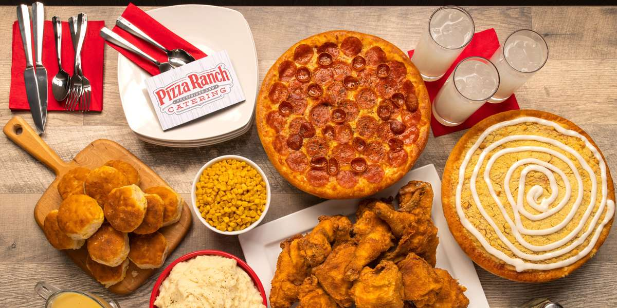 Where else can you get pizza, chicken, and salads under the same roof? We have quickly become the largest regional pizza restaurant chain in 4 states. Our mission is to give every guest a legendary experience. - Pizza Ranch
