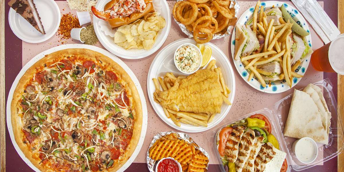 - Dracut House of Pizza & Seafood