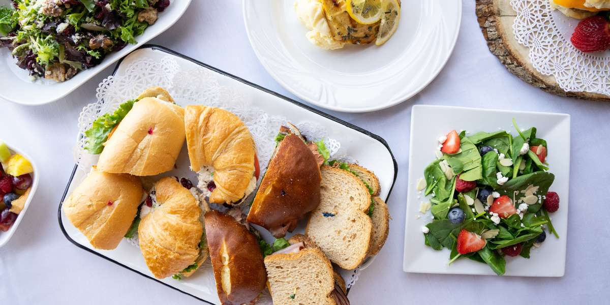We offer a variety of simple and elegant culinary options. Whether you're looking for light breakfast items, fresh salads, delicious sandwiches, or hearty entrees, we guarantee you a memorable meal that's right for the price! - Carlyle's Catering