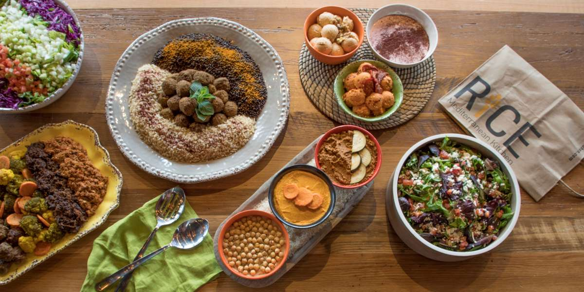 We hold the simple belief that you deserve real food made from the finest ingredients. Our Eastern Mediterranean upbringing instilled within us a deep passion for top-notch grains and greens, freshly prepared and served close to their source. We pledge to bring this passion for authenticity and excellence to every event.  - Rice Mediterranean Kitchen