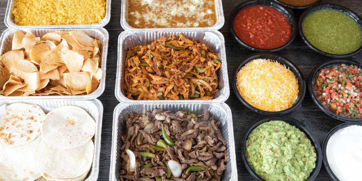 Come to us for the best Tex-Mex north of the border! We got our start back in 1992, and we're a neighborhood favorite to this day. From our crispy taquitos to our party-style Fajita Fiesta, our food will make sure your next event is anything but humdrum.  - Taco Rico
