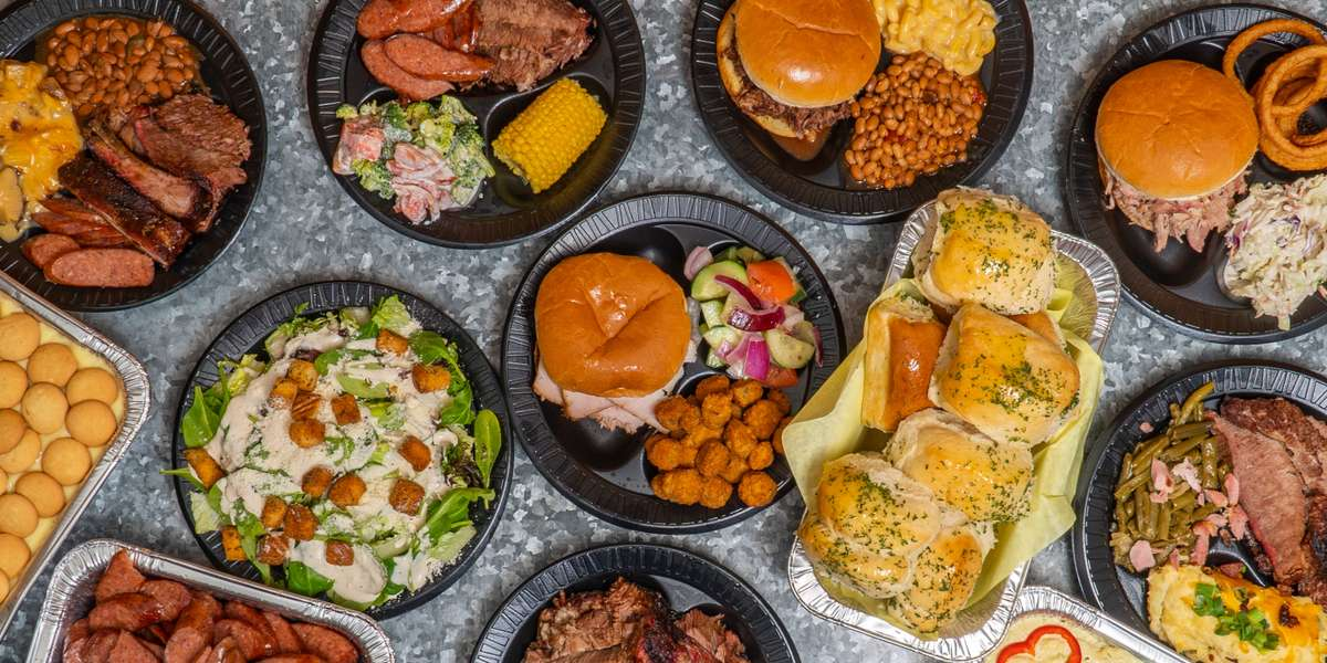 Our name says it all. When you order lunch from the Old House kitchen, it's as good as eating at your family home. The flavors of our slow-smoked meats and comforting sides will remind you of your best childhood meals.  - Old House BBQ