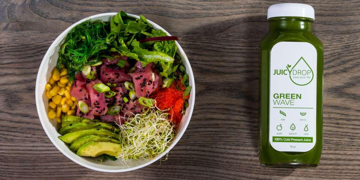 - Sweet Seed: Poke, Salad, & Juice Bar