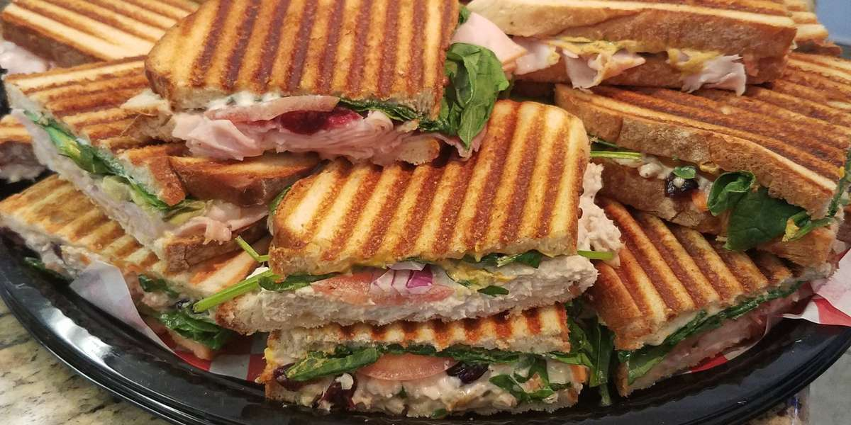 For over ten years, we have been cooking up handcrafted panini sandwiches, soups, and more. Take a break from your busy day and enjoy a little piece of Italy at your next catered event.  - Panini's