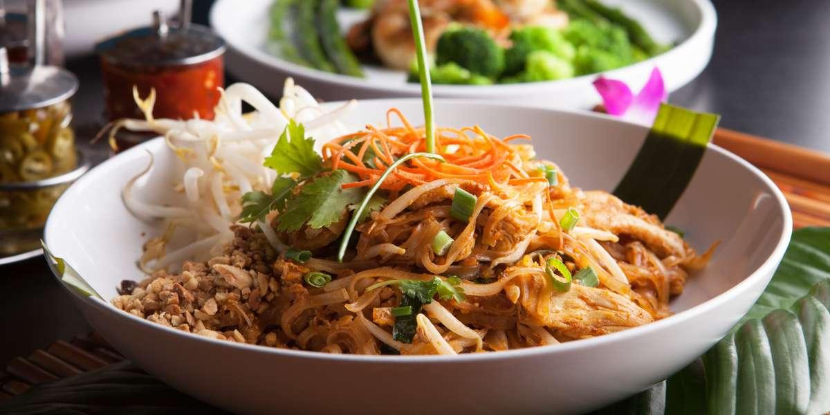 - At Thai Restaurant VA