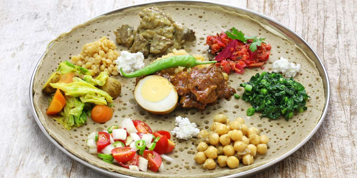 Our bona fide, authentic, and time-tested recipes burst with genuine Ethiopian flavor. Our spicy and mild meats are flavorful and fresh.  We also have plenty of options to satisfy the vegans in your office. - Ethiopian Gourmet