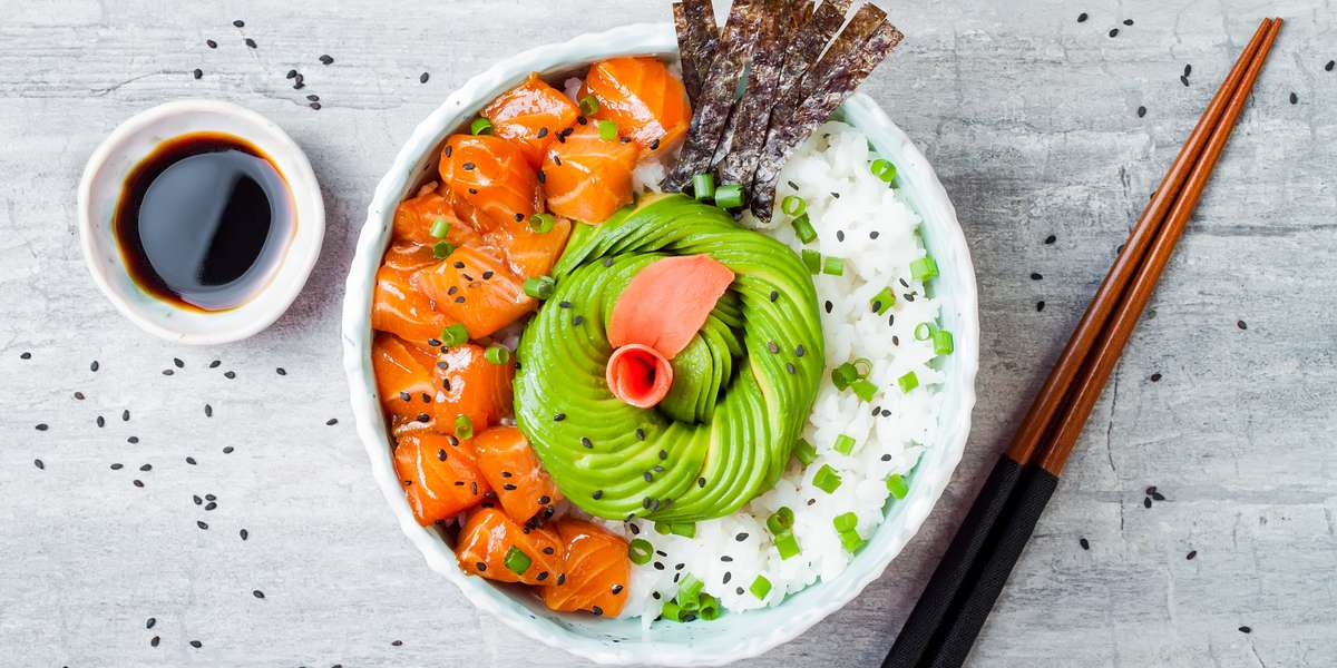 - Poke Sushi Bowl