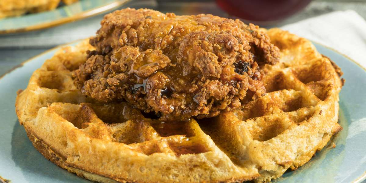 - Rooster's Chicken and Waffles