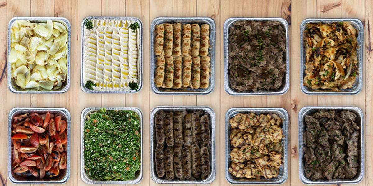 Our entrees make it easy for everyone to try an assortment of tasty Mediterranean favorites. We also have a vegetarian option so that the whole office can enjoy. Don't forget the Baklava!  - Pita Pita Mediterranean Grill