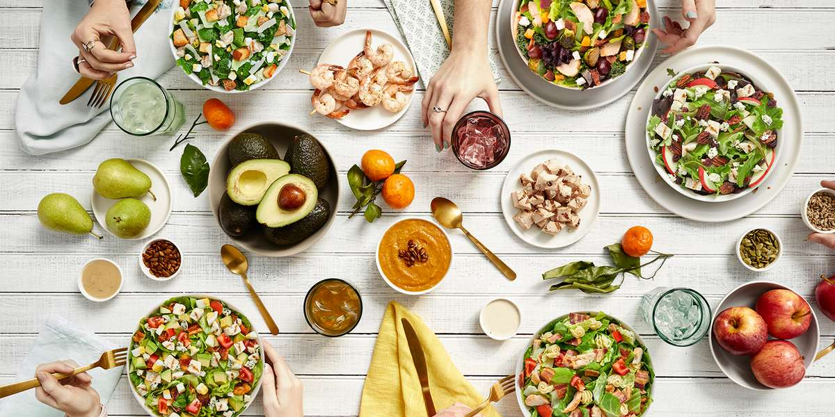 There are no rules governing salad -- that's a level of freedom few foods offer. Make it healthful, comforting, or hearty, or spicy. Make it it the way you want it, with what you want in it. That's what makes us America's favorite salad. - Saladworks