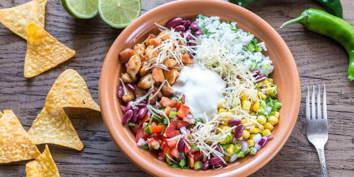 - Burrito Bowl Mexican Grill