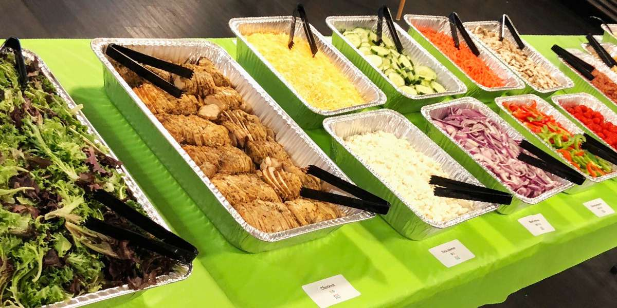 We have everything you need to be your office's lunchtime hero, with build-your-own wrap and salad bars that let you choose just what you and your team want. Pick your greens, meat or vegetables, toppings, and side, and let our chefs do the rest.  - Sandwich Sal