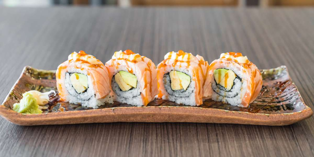 - Volcanic Sushi + Sake
