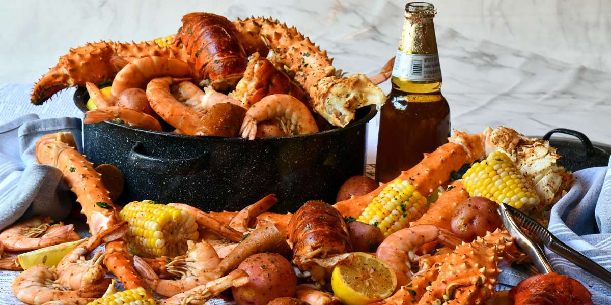 Let us cater your home or office party. Party Platters ~ Box Lunches ~ Group Meals ~ Seafood Boil Packs ~ Whole Desserts and More! We've got you covered. - Landry's Seafood