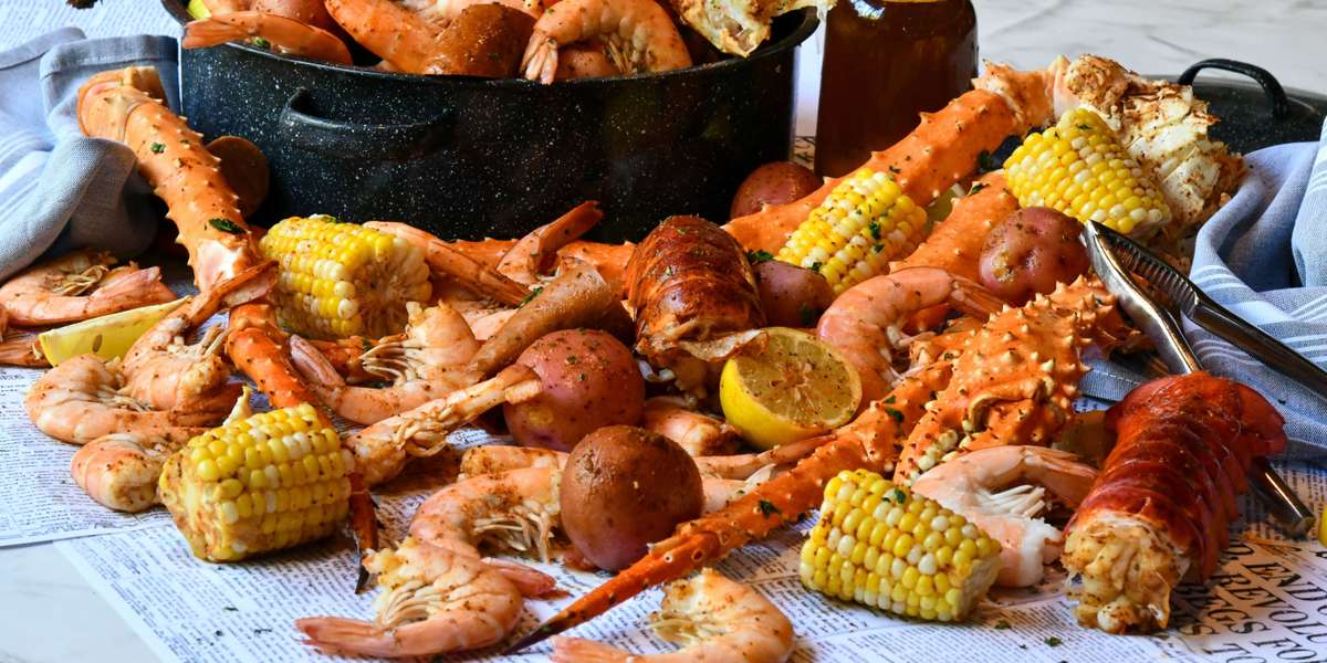 Let us cater your home or office party. Party Platters ~ Box Lunches ~ Group Meals ~ Seafood Boil Packs ~ Whole Desserts and More! We've got you covered. - Mitchell's Fish Market