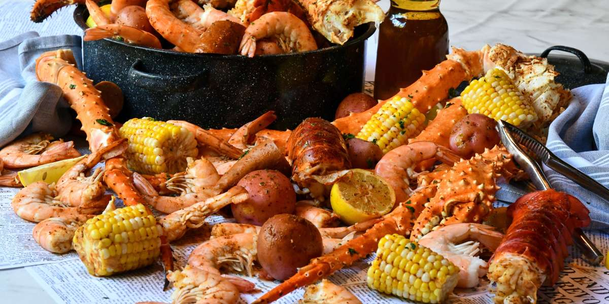 Let us cater your home or office party. Party Platters ~ Box Lunches ~ Group Meals ~ Seafood Boil Packs ~ Whole Desserts and More! We've got you covered. - Gandy Dancer