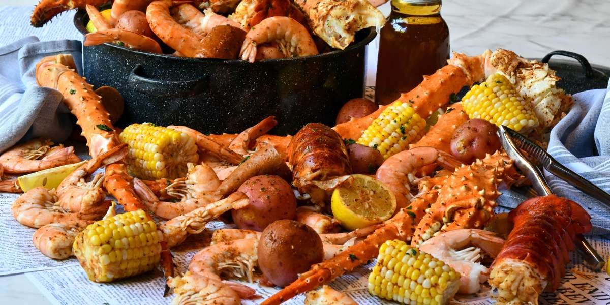 Let us cater your home or office party. Party Platters ~ Box Lunches ~ Group Meals ~ Seafood Boil Packs ~ Whole Desserts and More! We've got you covered. - Grand Concourse
