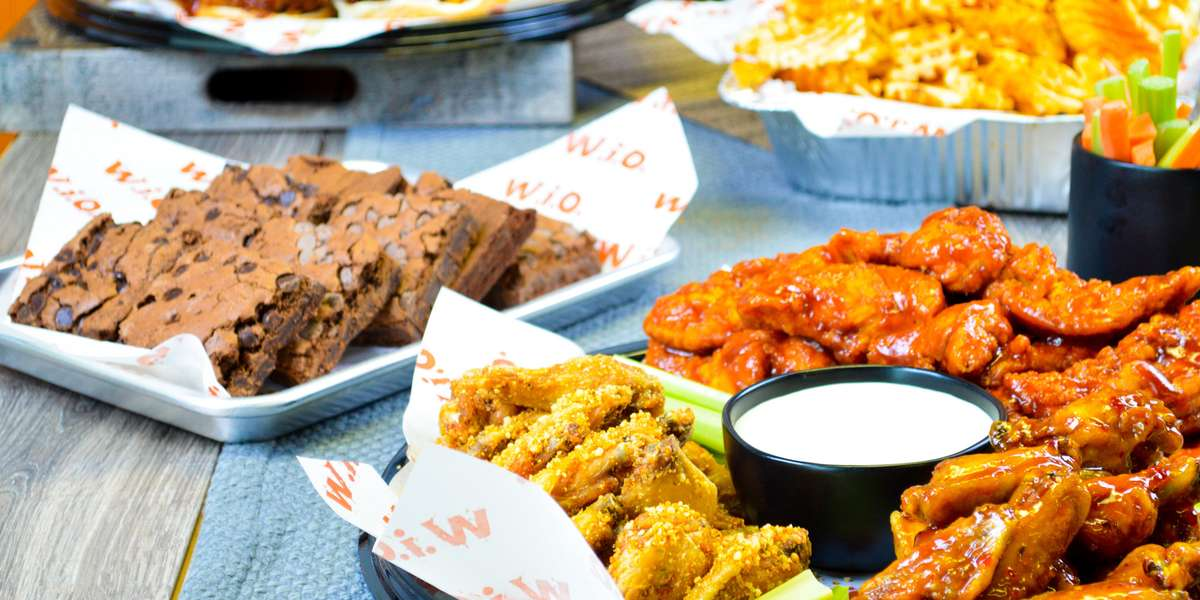 We've been in the business of making wing fanatics happy for years. We have sauces up the wazoo, from our smokin' mango-habañero sauce to our savory garlic-Parmesan dip. You can select your type of wings, pick your dip, or go for one of our crispy chicken sandwiches instead. Whatever you decide, we guarantee it'll be delicious. - Wing It On!