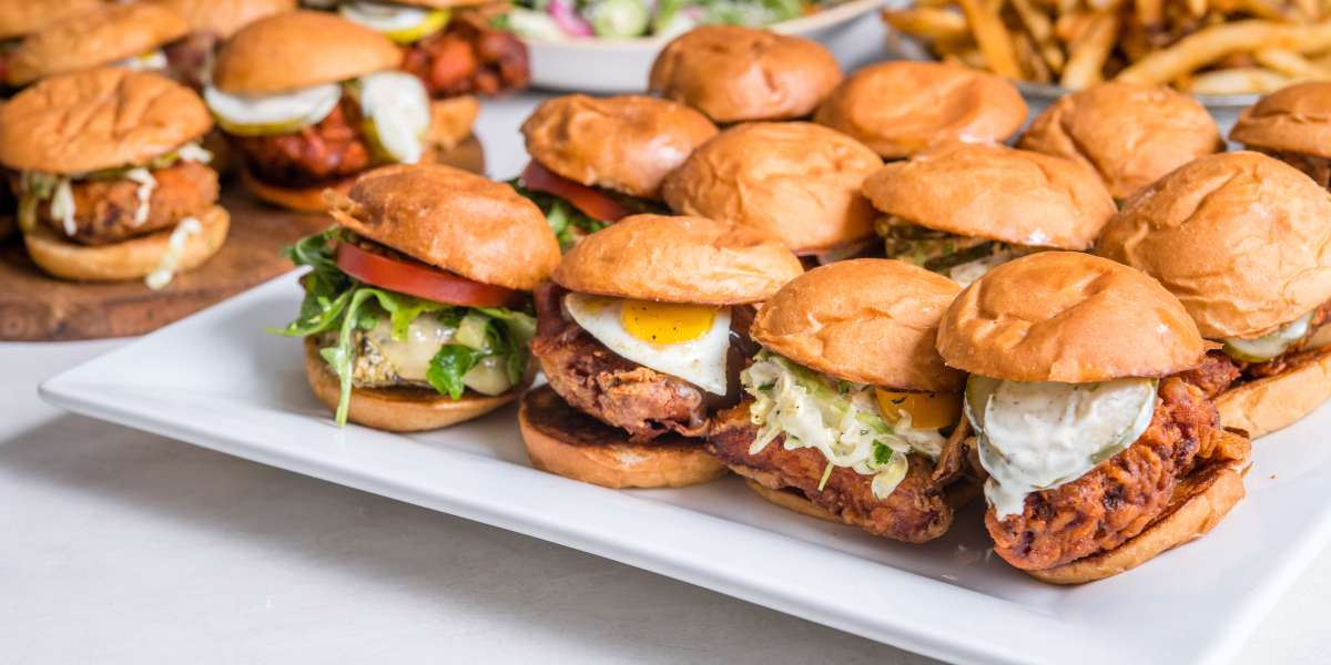 Out of our brave culinary coop comes everybody's favorite animal that crossed the road, reimagined — Southern California fried chicken and egg fare in the sunny SoCal spirit of inspired cuisine. - The Crack Shack