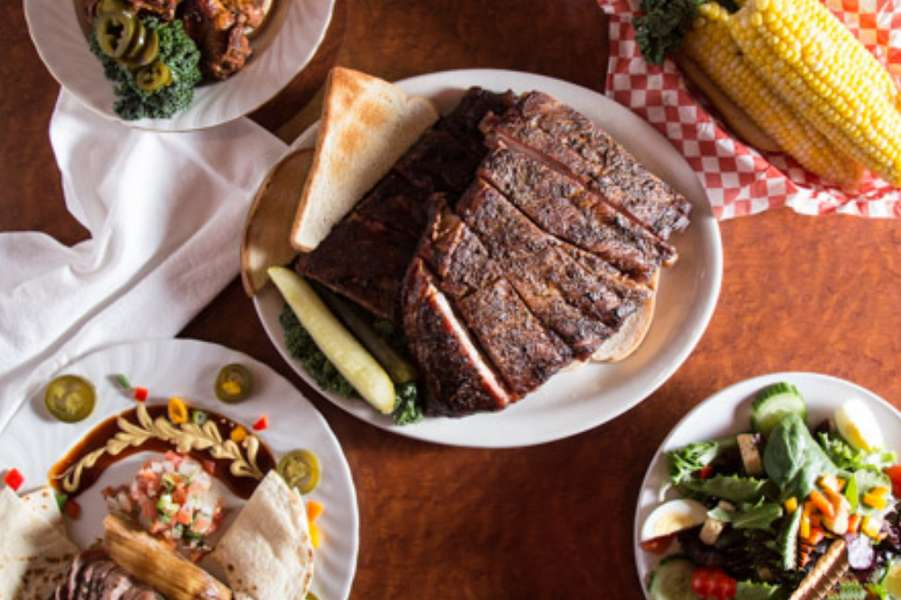 We've been serving up mouthwatering BBQ since 2003. Not only are we popular among the Kansas City community by winning countless awards, but we've also been featured on Diner's, Drive In's, and Dives! Order from us and see how our smoked meats will take you on a trip to flavortown.  - RJ's Bob-Be-Que Shack