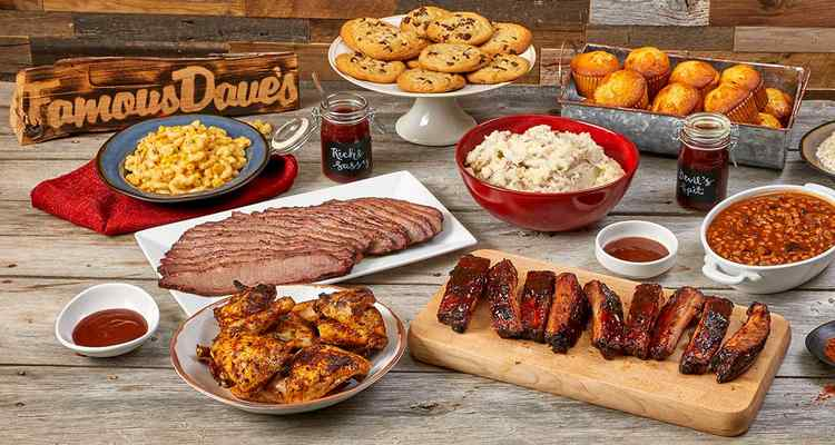 Famous Dave's BBQ Catering