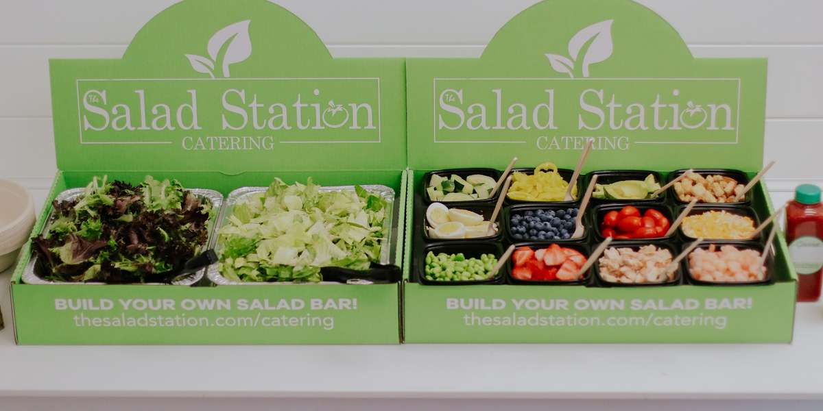 "Excellent customer service, family + farming atmosphere, fresh local ingredients, and the pay by the pound concept are a few qualities that make The Salad Station unique. We pride ourselves on the friendly, fun and fresh experience our guests have when visiting our stores. The ""pay by the pound"" concept is very different for many, but our guests love the fact that they are paying for exactly what they created. Every ingredient on their plate was placed with a purpose. - Salad Station"