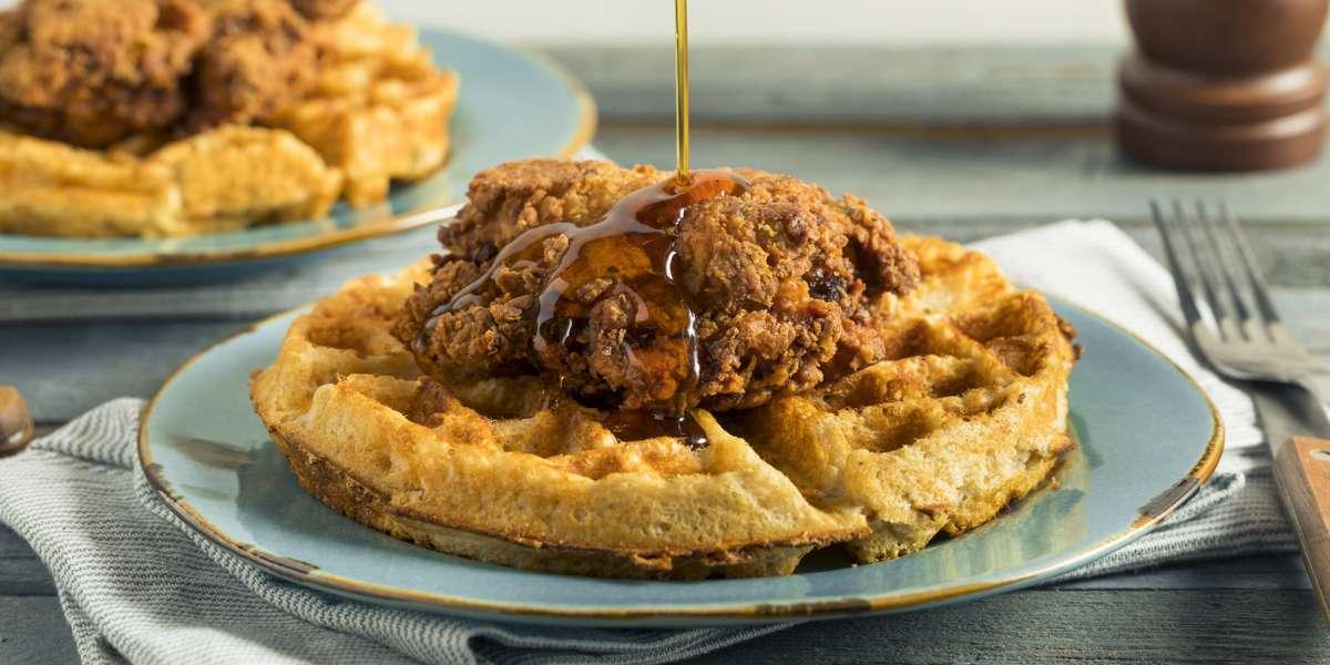- Heavenly Chicken & Waffles