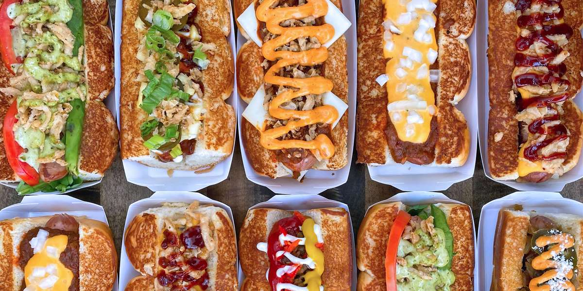 We've garnered critical acclaim and national attention for our signature all-beef Haus Dogs and handcrafted Haus sausages. In addition, our humanely raised black Angus beef carries no hormones or antibiotics. You can choose from signature, one-of-kind Haus creations or customize your own with a wide array of unique toppings. - Dog Haus