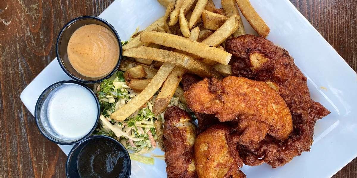 - Ghost Fried Chicken
