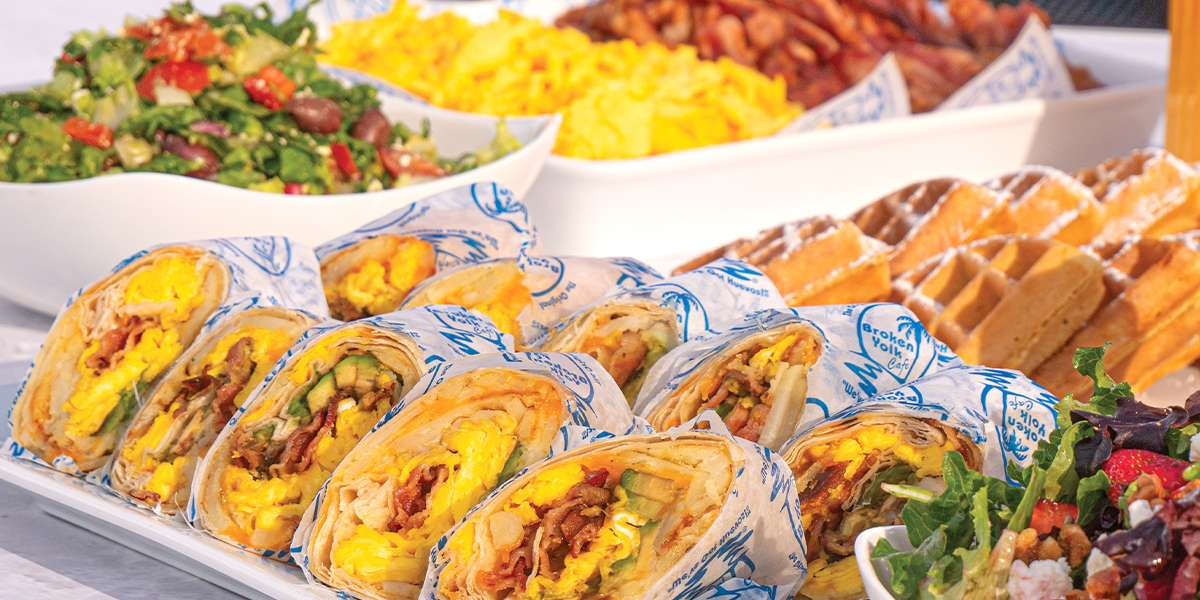 We've been a local favorite since 1979, known for our high-quality, homemade food and always generous portions. Our California-inspired menu offers a variety of casual but delicious bites, so whether you're craving a made-from-scratch muffin, a tasty breakfast burrito, or a stacked sandwich, we've got you covered. - The Broken Yolk Cafe