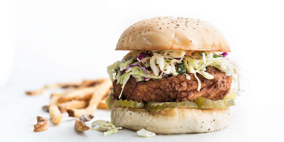 We are super into chicken. We think it's just about the most perfect food in the world. We keep it simple-- we're home to the Last True Chicken Sandwich. Pair it with our top-notch toppings, hand-cut potato chips, and our own blend of frozen custard.  - Super Chix