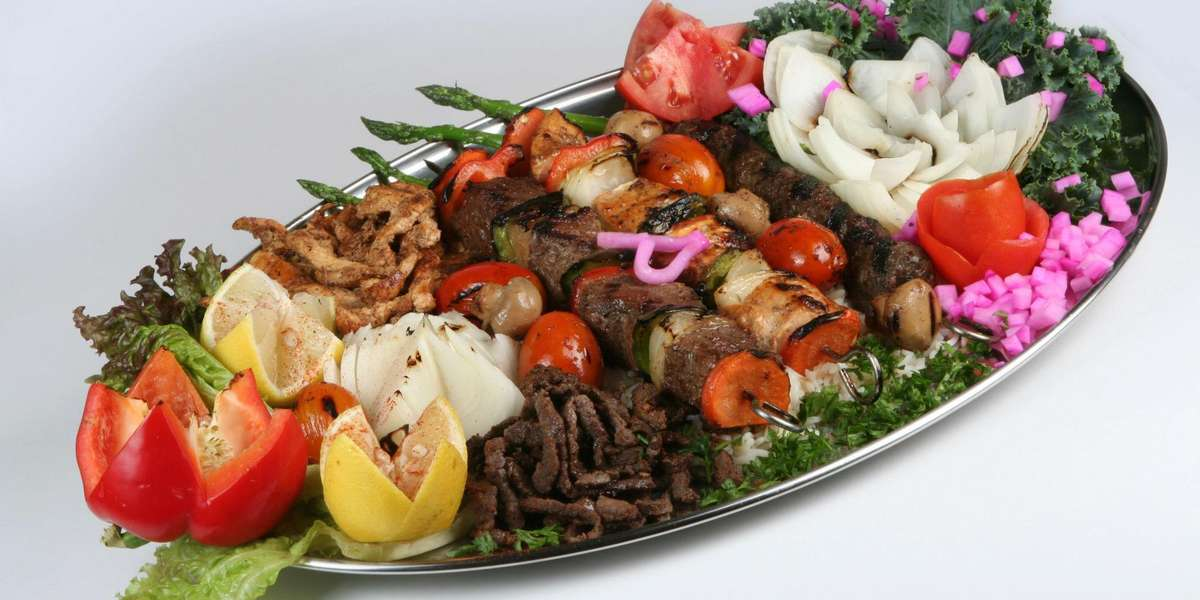 We've received recognition in the Detroit Free Press for our Mediterranean and Middle Eastern cuisine - our food is light yet hearty, and is sure to make your next event a success. Try our Ultimate Sandwich Tray for an assortment of flavorful Mediterranean-style sandwiches, or any of our Shawarma Platters for a more filling lunch option. - Shish Kabob Express