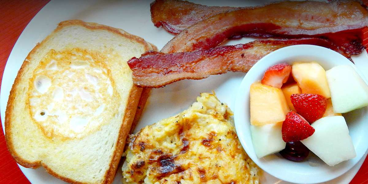 Breakfast is called the most important meal of the day for a reason. It sets the trend for the rest of day. And we don't take this lightly. It's our goal to provide you with the most delicious, high quality breakfast for any appetite. Now sit back and leave the rest to us. - The Toasted Yolk Cafe