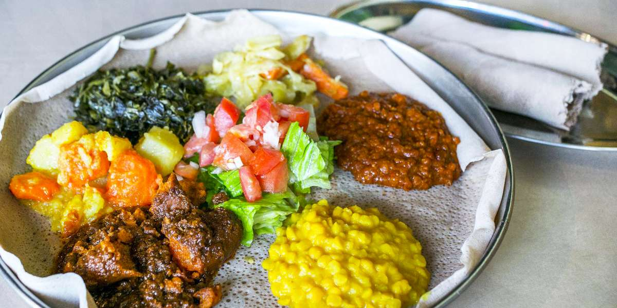 "We serve the best Ethiopian in Chicago. That's a bold statement, but we have the awards to back it up. We've won too many to list them all, but the highlights include Best Ethnic Restaurant in Edgewater, Best Vegetarian Food, and a feature on ABC Channel 7's ""Hungry Hound."" One Yelper says they'd give us 100 stars if they could!  - Ethiopian Diamond Restaurant"