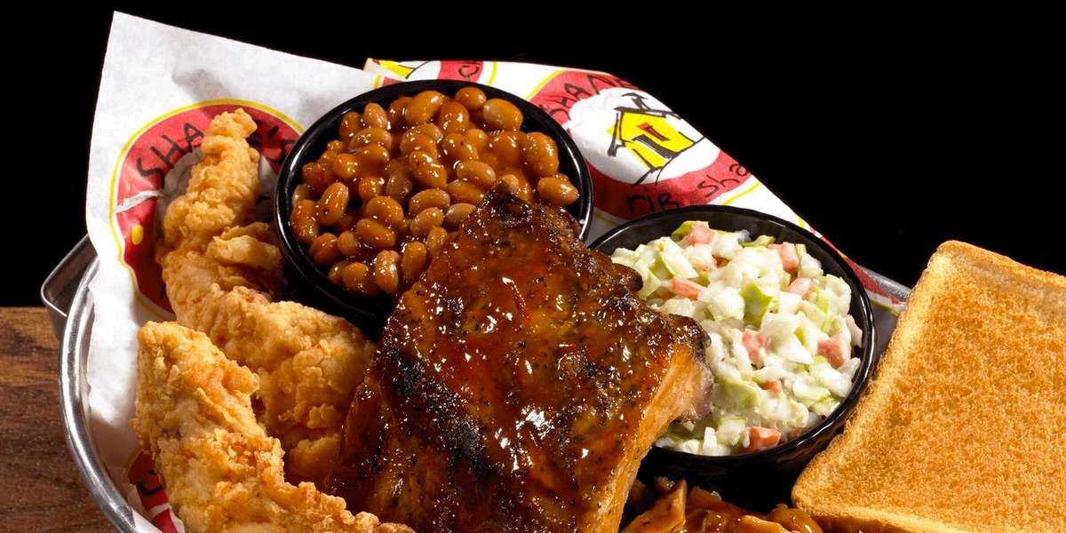 Just let us know how many people to plan for and we'll take care of the rest!  Shane's will provide the paper products, utensils, and of course plenty of BBQ Sauce! - Shane's Rib Shack