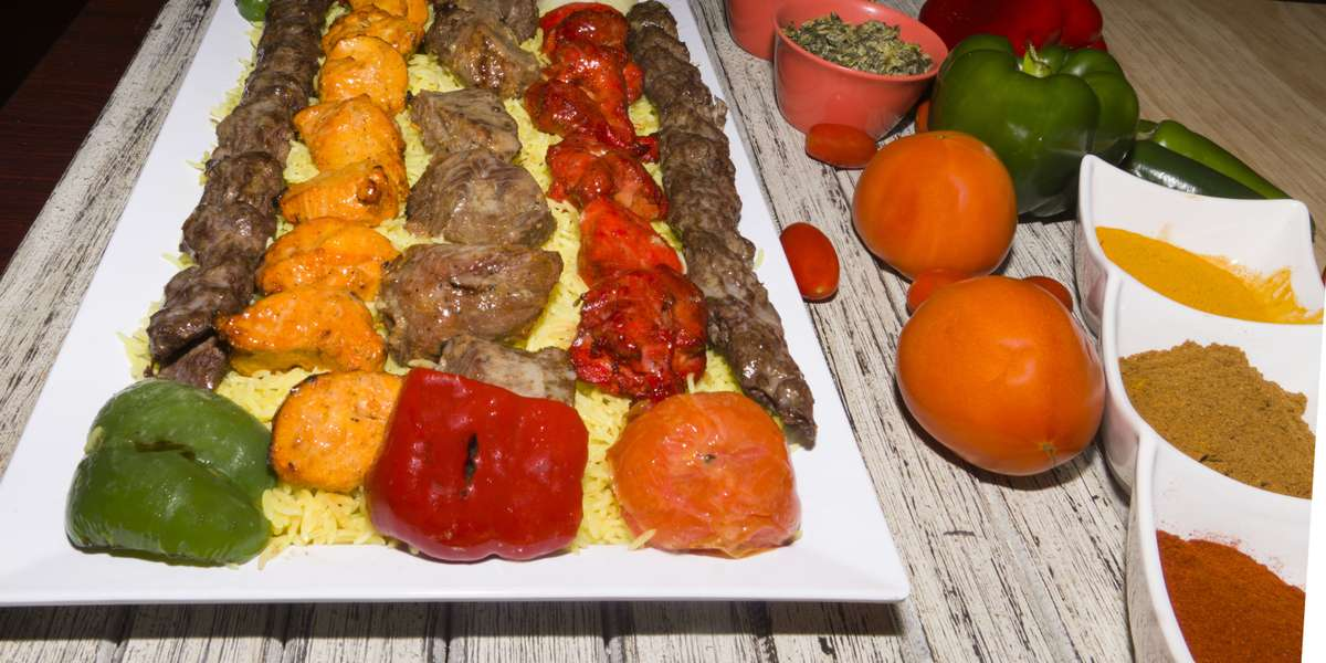 There's a reason we use the very recipes our ancestors thrived on (besides authenticity of course) - they're simply delicious! Saffron, cinnamon, turmeric, ginger, rosemary, and more rich spices combine for the tastiest kabobs in Virginia. Using halal meats, we have the most authentic kabobs from the Mediterranean. - Shut Up and Eat Catering