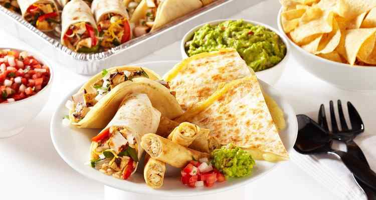 Baja Fresh Mexican Grill Catering