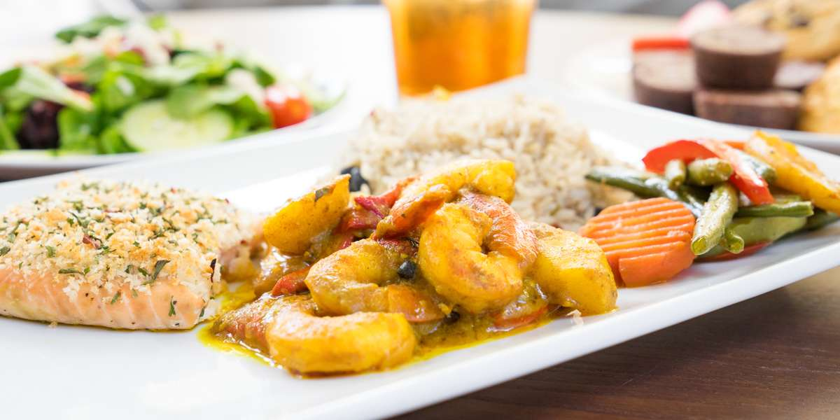 Bring a taste of the Caribbean to your next meeting with zero hassle! Choose from one of our convenient catering packages, and we'll take care of the rest. We offer a mix of traditional dishes and more exotic Caribbean flavors, so no matter what you crave, you're sure to be satisfied. - Atlanta Premier Catering